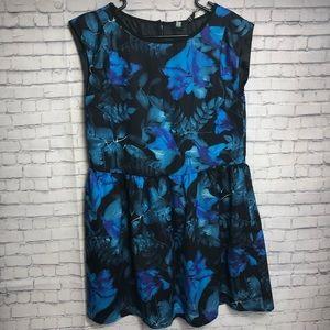 Insight Azuro Deep Teal Forest Dress